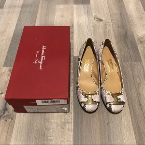 Salvatore Ferragamo wedges heels shoes
